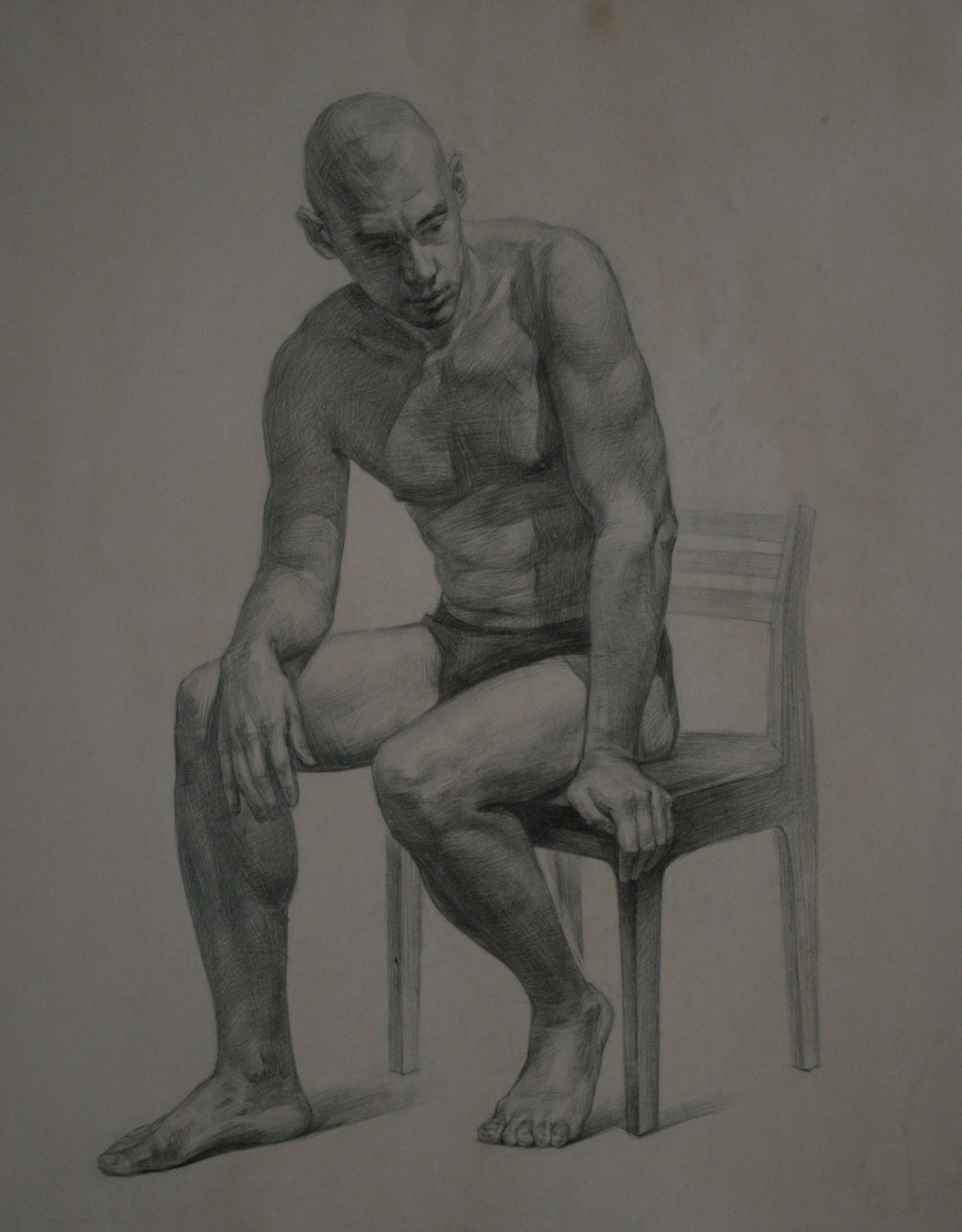 порно художница рисует с натуры